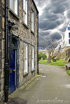 House in Dublin with Bad Weather Copyright: Giovanni Gagliardi