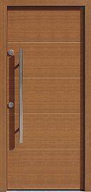 Drzwi antywłamaniowe wejściowe do domu / mieszkania wzór  490,15 w kolorze złoty dąb