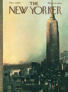 The New Yorker - Saturday, March 3, 1962 - Issue # 1933 - Vol. 38 - N° 2 - Cover…