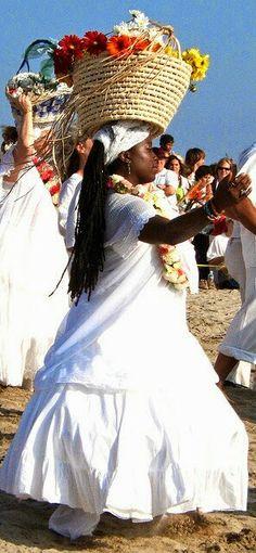 Le figlie dell'Antica Religione)O(: Yemanja,la regina del mare...
