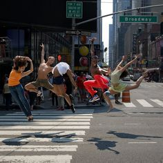 let's just break into dance in the middle of the street.