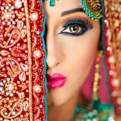 Beautiful Indian Bridal Makeup ideas for your Indian Wedding.