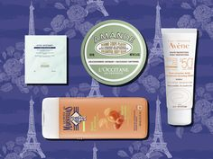 French drugstore beauty products feature