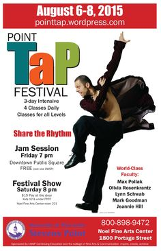 Registration is open for this year's Point Tap Festival!