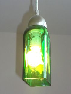 Jager Pendant Light by Groovy Green Glass