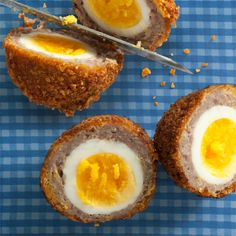 Scotch eggs from Chow/ http://www.chow.com/food-news/109006/celebrate-easter-with-scotch-eggs/