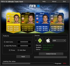 FIFA 16 Ultimate Team Hack