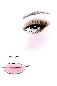 Stila Cosmetics Perfect Me, Perfect Hue Eye & Cheek Palette - Fair/Light Palette Makeup Artist Logo, Lashes Logo, Art Drawings Sketches, Eye Art, Anime Art Girl, Beauty Art, Illustrations, Stila Cosmetics, Skin Tone