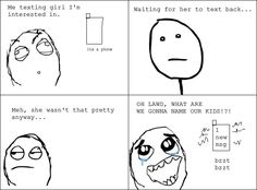 Texting a girl I like // funny pictures - funny photos - funny images - funny pics - funny quotes - #lol #humor #funnypictures