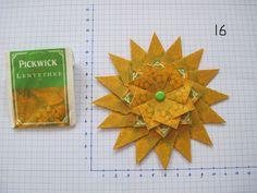 3 laags gemaakt van 32 theezakjes Pickwick lentethee