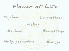 Flower of Life ketting | InTu jewelry design with meaning