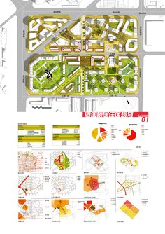 architecture diagram-i like the colors on the site plan that tie to the diagrams below