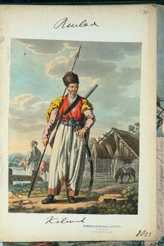 Kalmuck (NYPL > The Vinkhuijzen collection of military uniforms > Russia. > Russia, 1813 [part 1])