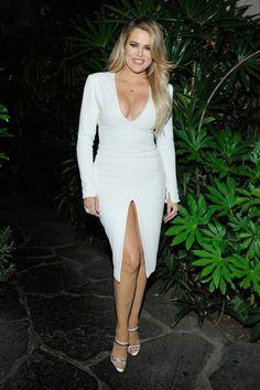 Last Night's Kardashian Dress Code: Leg Slits and Crop Tops Only – Fashion Robert Kardashian, Khloe Kardashian Diet Plan, Khloe Kardashian And Tristan, Koko Kardashian, Kardashian Dresses, Kardashian Jenner, Kardashian Family, Kardashian Fashion, Kendall Jenner