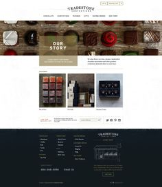 Handcrafted chocolates and gourmet confections delivered to your door - Tradestone Confections