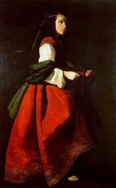 """Francisco de Zurbarán, """"Santa Casilda"""""""