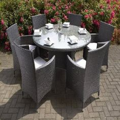 lotus rattan garden furniture set sofa dining table chairs