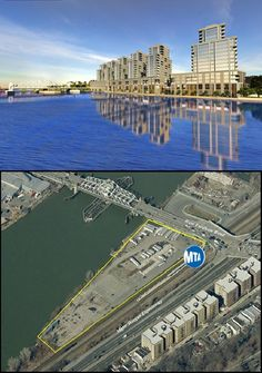 """A waterfront residential complex along the Harlem River is being proposed for a parcel of land in University Heights (AKA 'Fordham Landing"""") adjacent to the Major Deegan Expressway in The Bronx. Real estate brokerage Massey Knakal , is shopping the site to potential developers for $30 million, New York Daily News reports. #The Bronx #WaterfrontDevelopment"""