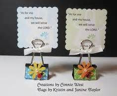 Binder clip party favor for a bible verse tag, photo or recipe card ...
