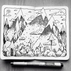 """Check out my @Behance project: """"Sketchbook Project One""""…"""