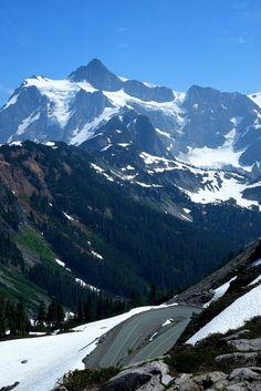 Switchbacks, Mt. Baker, Washington.  madtrader: