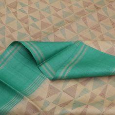 Paduka Handwoven Tussar Silk Sari