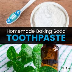 This homemade baking soda toothpaste recipe has all the nutrients that support building healthy teeth. Get the recipe here! Best Toothpaste, Toothpaste Recipe, Homemade Toothpaste, Baking Soda Teeth, Baking Soda Shampoo, Stevia, Cinnamon Oil, Natural Teeth Whitening, Healthy Teeth