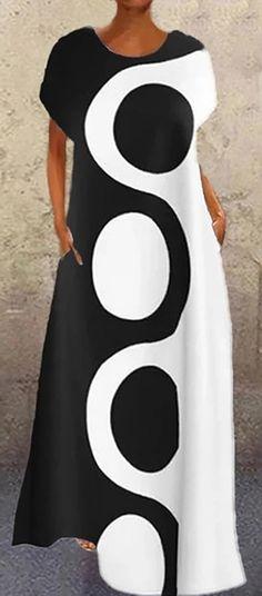 White Fashion, Colorful Fashion, Classy Outfits, Beautiful Outfits, Mode Outfits, Fashion Outfits, Clothing And Textile, Fashion Prints, Pretty Dresses