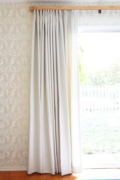 """Have A Proper Hem """"Weigh down your curtains with a proper 5-inch hem. It makes them much more proportioned and professional-looking."""" — Emily Henderson"""