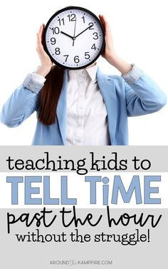 Teaching kids to tell time past the hour can be challenge but it doesn't have to be a struggle for you or your students. Learn simple, yet effective ways to make telling time so much easier for your 1st, 2nd, and 3rd graders that make telling time more concrete and fun! These teaching ideas and FREE printable telling time games and activities are ideal for teachers and homeschool parents of first, second and third graders.