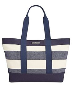 Daphne Woven Rugby Tote