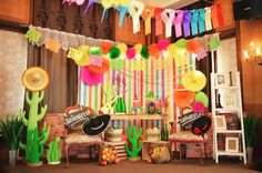 Sofia's Mexican Fiesta Themed Party – 7th Birthday - Party Doll Manila