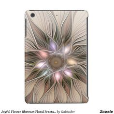 Joyful Flower Abstract Floral Fractal Art iPad Mini Retina Case