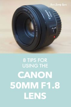 Not getting the images you dream of from your Canon 50mm F1.8 lens? Then read these 8 tips for using this lens and get the images it's capable of!