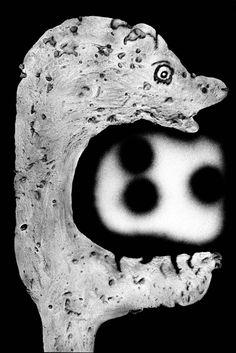 Le théâtre des apparitions macabres de Roger Ballen - La boite verte