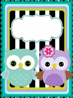 Pin by onelci hernandez on hojas para agenda owl theme classroom, owl binde Owl Clip Art, Owl Art, Mickey Mouse Birthday Theme, Owl Theme Classroom, Specialty Paper, Borders And Frames, Binder Covers, Happy B Day, Cute Wallpapers