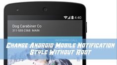 Change Android Mobile Notification Style Without Root | How To Use Mater...