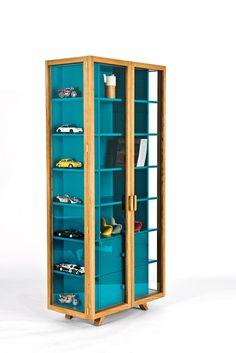 Коллекция стеклянных шкафов Vitrina Collection