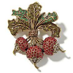heidi daus pins and brooches | brooches heidi daus radish crystal pin $ 120 hsn com shop heidi daus ...