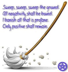 Sweep the ground