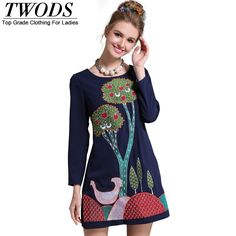 L- 5XL Embroidery Beading Autumn Short Dress Long Sleeve O neck Large Size Slim Fit Flare Mini Top Quality Like and share! http://www.artifashion.net/product/l-5xl-embroidery-beading-autumn-short-dress-long-sleeve-o-neck-large-size-slim-fit-flare-mini-top-quality/ #shop #beauty #Woman's fashion #Products