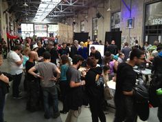 Sunday even crazier busyness at the Toronto Maker Faire