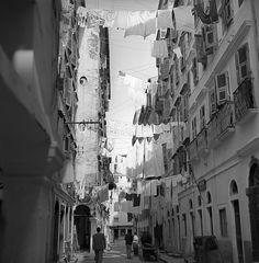 0592a59 08 | corfu, greece may 1959 beneath the clotheslines… | Flickr