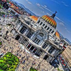 Palacio de Bellas Artes. Zona Centro D.F.