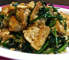 ... & Salads on Pinterest | Chinese eggplant, Water spinach and Stir fry