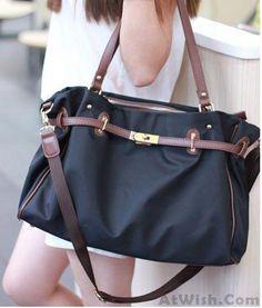 Fashion Navy Platinum Canvas Handbag Shoulder Bag Navy Blue Handbags 9f83aa827a7cf