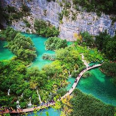 #croatia #plitvice #nature #travel #landscape #vacation #iphoneonly #awesome