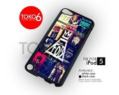 AJ 4218 Fall Out Boy Cover Album Collage - iPod 5 Case   toko6 - Accessories on ArtFire