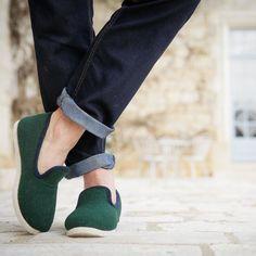 Green / Navy Calmont #rondinaud by ets_rondinaud