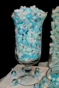 Blue Raspberry Salt Water Taffy!